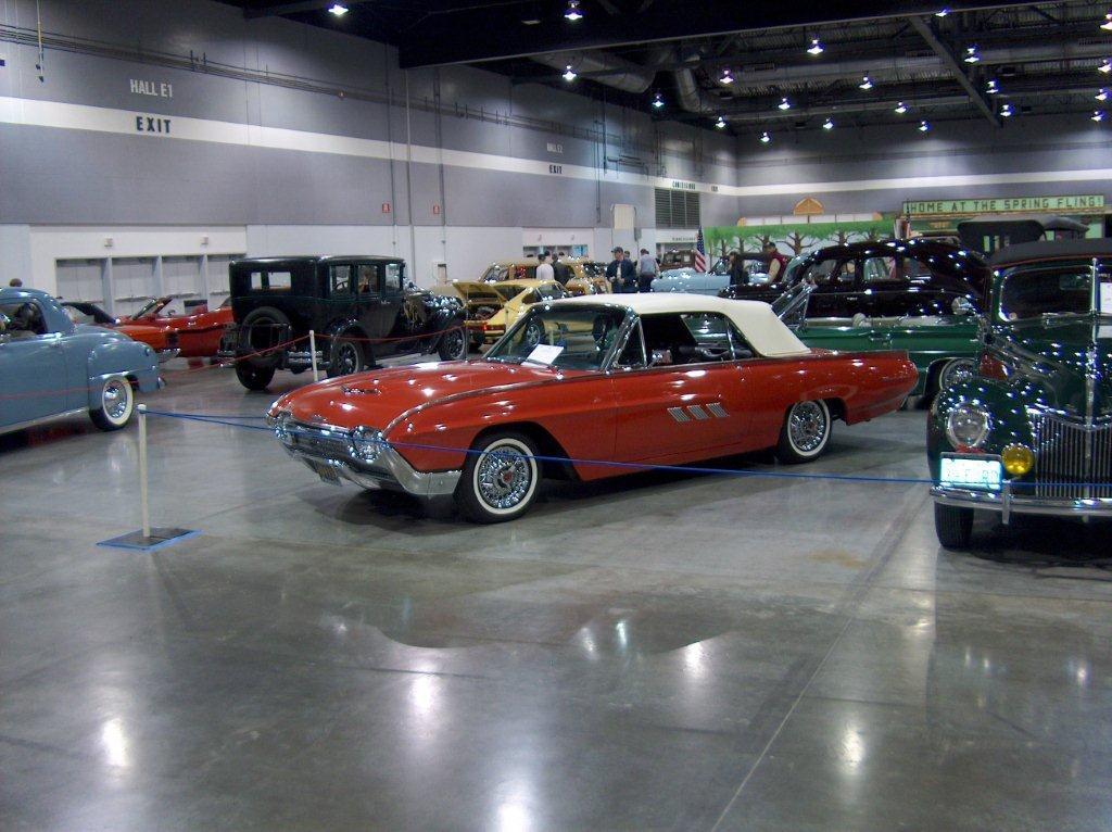 Goos 1963 Bulletbird Convertible