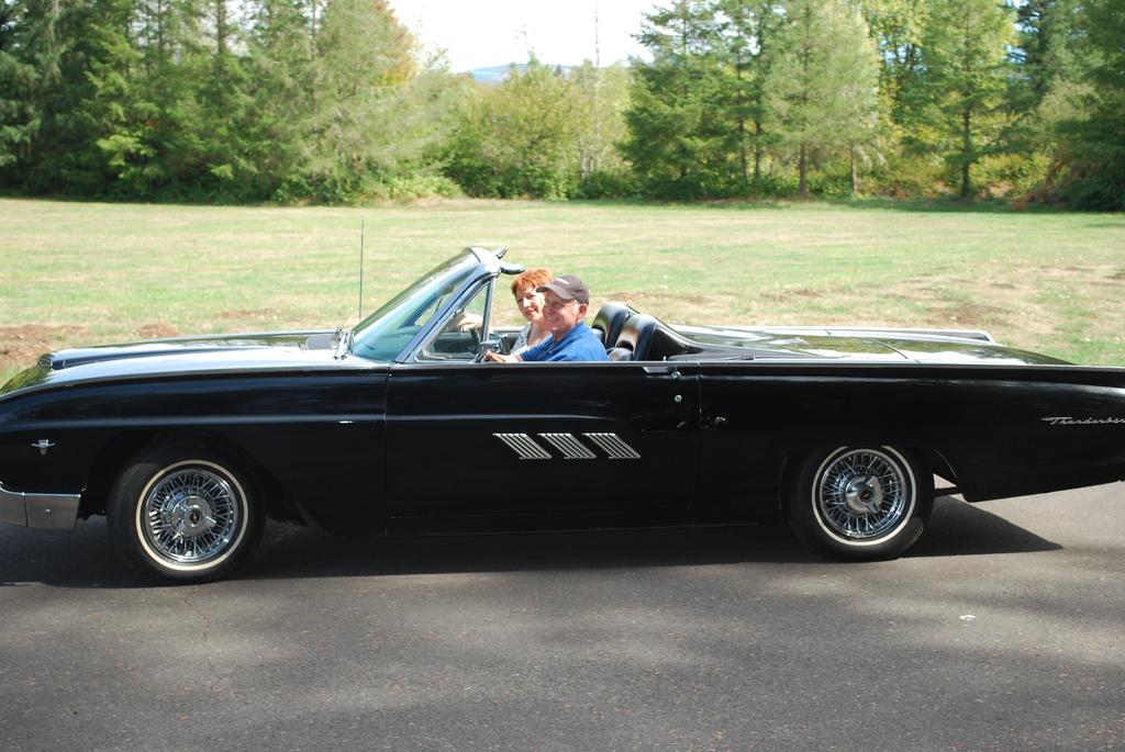 Truax 1963 Bulletbird Convertible